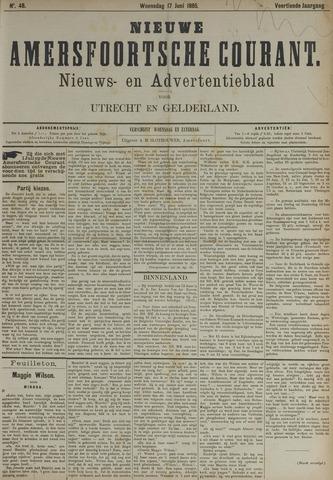 Nieuwe Amersfoortsche Courant 1885-06-17