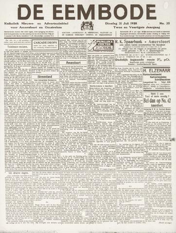 De Eembode 1928-07-31