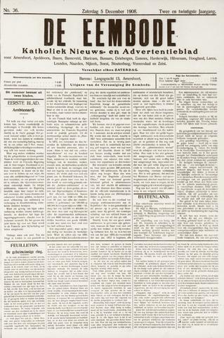 De Eembode 1908-12-05