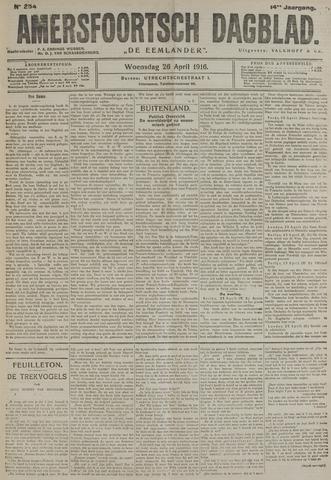 Amersfoortsch Dagblad / De Eemlander 1916-04-26