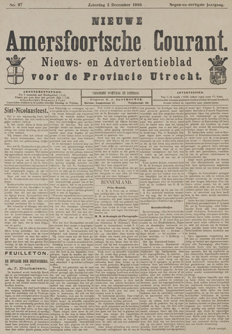Nieuwe Amersfoortsche Courant 1910-12-03