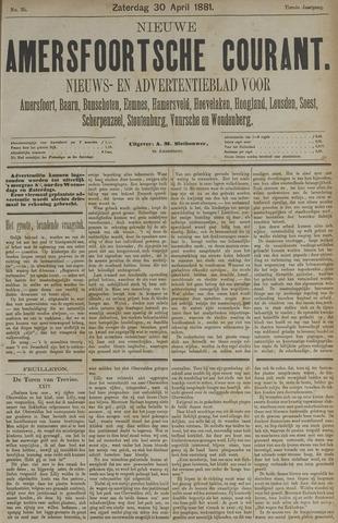 Nieuwe Amersfoortsche Courant 1881-04-30