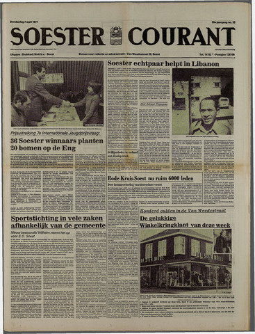 Soester Courant 1977-04-07