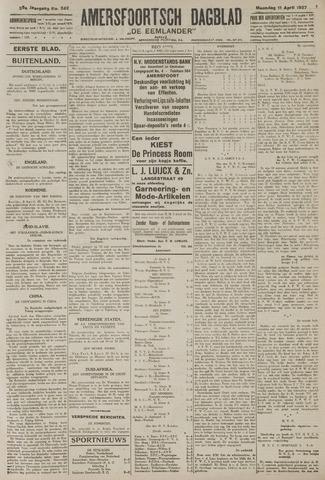 Amersfoortsch Dagblad / De Eemlander 1927-04-11