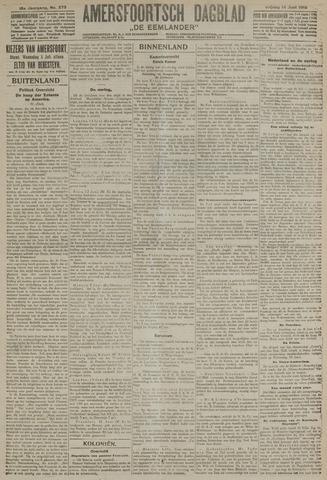 Amersfoortsch Dagblad / De Eemlander 1918-06-14