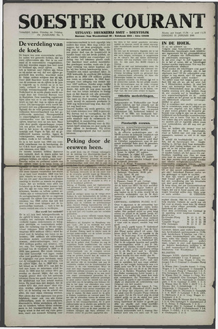 Soester Courant 1949-01-11
