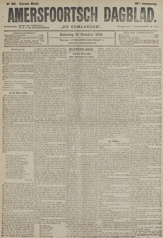 Amersfoortsch Dagblad / De Eemlander 1916-10-21