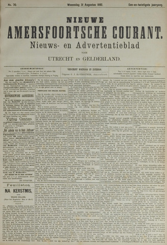 Nieuwe Amersfoortsche Courant 1892-08-31