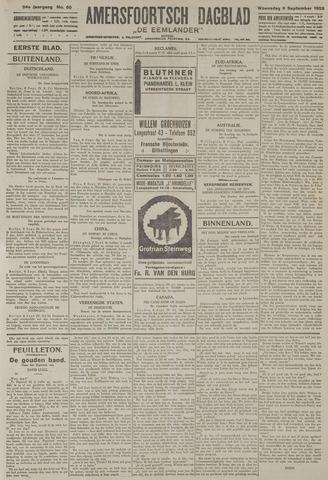 Amersfoortsch Dagblad / De Eemlander 1925-09-09