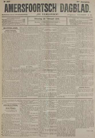 Amersfoortsch Dagblad / De Eemlander 1916-02-29