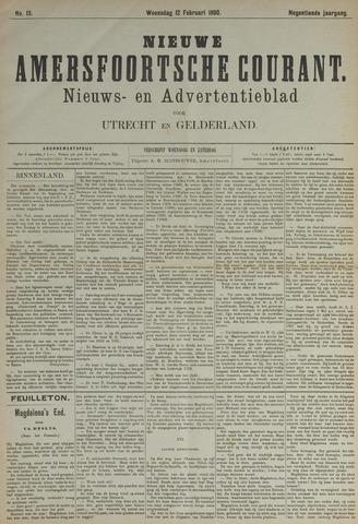 Nieuwe Amersfoortsche Courant 1890-02-12