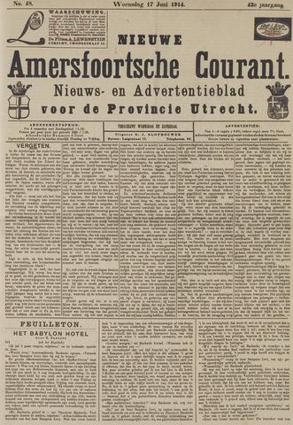 Nieuwe Amersfoortsche Courant 1914-06-17