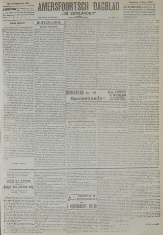 Amersfoortsch Dagblad / De Eemlander 1921-03-07