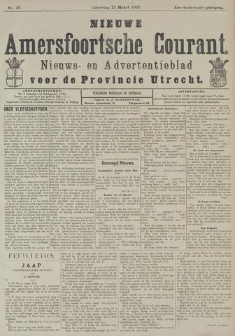 Nieuwe Amersfoortsche Courant 1907-03-23