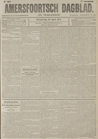 Amersfoortsch Dagblad / De Eemlander 1913-04-24