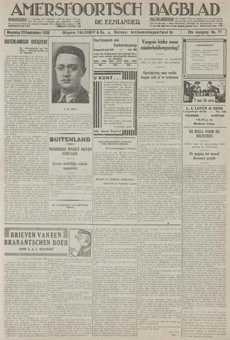 Amersfoortsch Dagblad / De Eemlander 1930-09-29