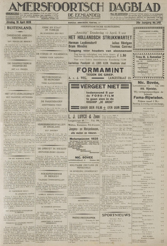 Amersfoortsch Dagblad / De Eemlander 1928-04-10