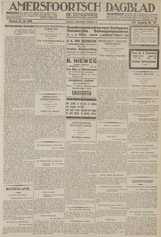 Amersfoortsch Dagblad / De Eemlander 1928-07-24