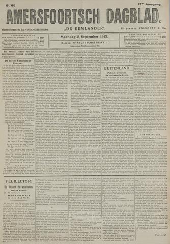 Amersfoortsch Dagblad / De Eemlander 1913-09-08