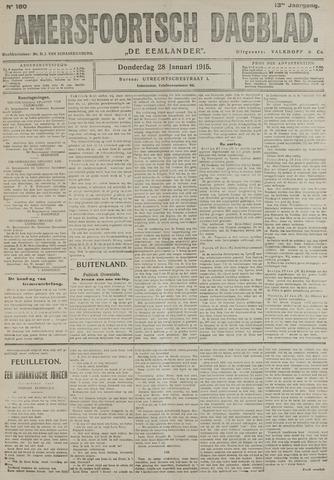 Amersfoortsch Dagblad / De Eemlander 1915-01-28