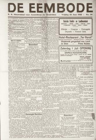 De Eembode 1922-06-23