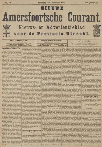 Nieuwe Amersfoortsche Courant 1918-12-28