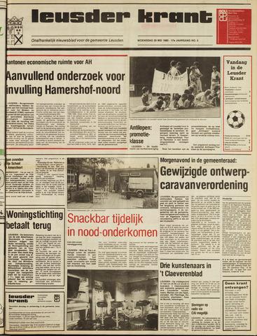 Leusder Krant 1985-05-29