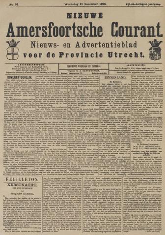 Nieuwe Amersfoortsche Courant 1906-11-21
