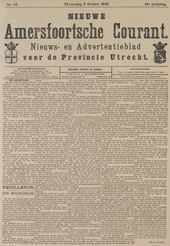 Nieuwe Amersfoortsche Courant 1912-10-09