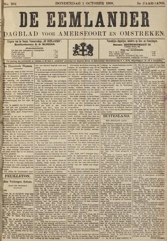 De Eemlander 1908-10-01