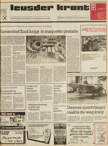 Leusder Krant 1988-08-18