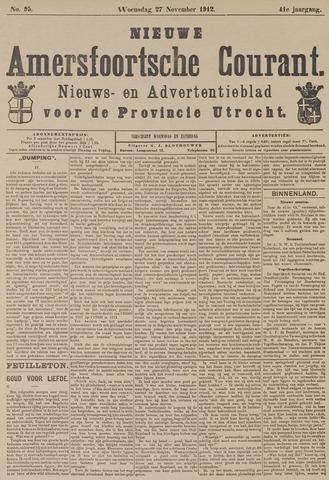 Nieuwe Amersfoortsche Courant 1912-11-27