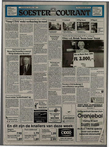 Soester Courant 1999-04-28