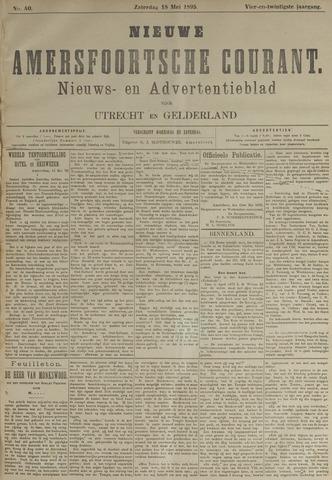 Nieuwe Amersfoortsche Courant 1895-05-18