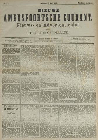 Nieuwe Amersfoortsche Courant 1889-04-03