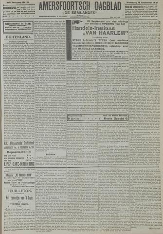 Amersfoortsch Dagblad / De Eemlander 1921-09-14