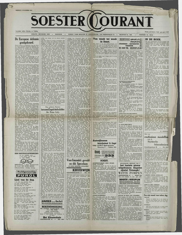 Soester Courant 1954-10-15