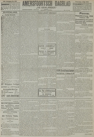 Amersfoortsch Dagblad / De Eemlander 1922-05-03