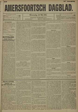 Amersfoortsch Dagblad 1912-05-22