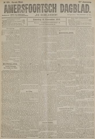 Amersfoortsch Dagblad / De Eemlander 1916-11-18