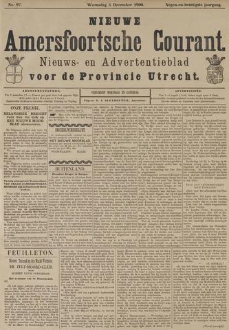 Nieuwe Amersfoortsche Courant 1900-12-05