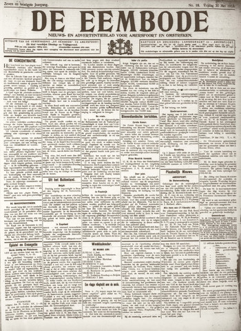 De Eembode 1913-05-30