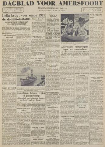 Dagblad voor Amersfoort 1947-06-04