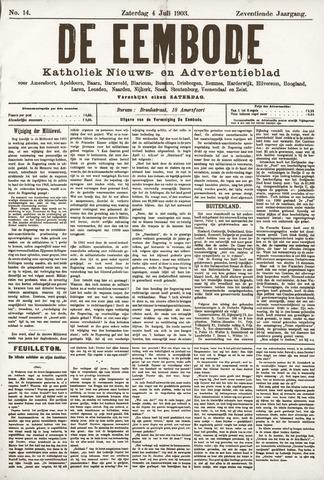 De Eembode 1903-07-04