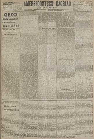 Amersfoortsch Dagblad / De Eemlander 1918-08-15