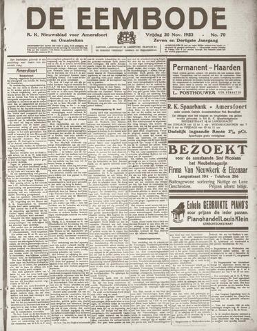 De Eembode 1923-11-30