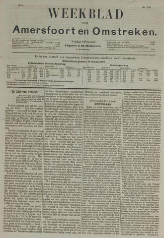 Weekblad voor Amersfoort en Omstreken 1878-02-08