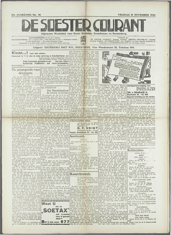 Soester Courant 1934-11-16