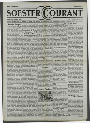 Soester Courant 1958-01-10