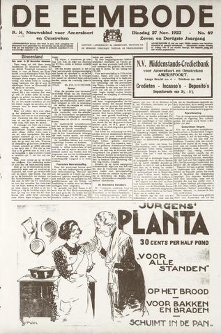 De Eembode 1923-11-27